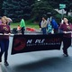 Maple Grove Youth Cheer at the 2016 Maple Grove Days Pierre Bottineau Parade along 89th Avenue Thursday, July 14