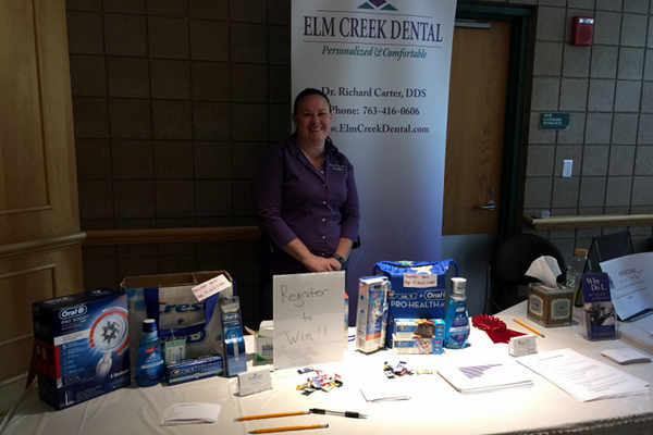Elm Creek Dental at the Maple Grove Days Business Expo 2016. (photo by Wendy Erlien)