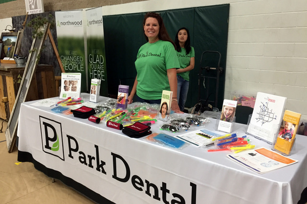 Park Dental at the Maple Grove Days Business Expo 2016. (photo by Wendy Erlien)