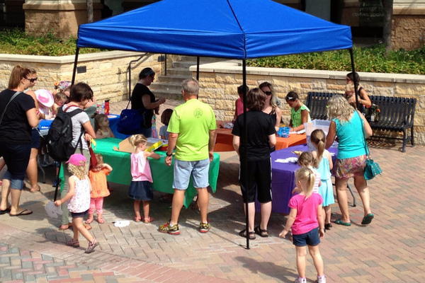 Plenty of crafts at Camp Arbor at the Shoppes at Arbor Lakes on July 19. 2016