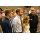 R to L: Hunter O'Neal, Brian O'Neal, Kalle O'Neal, Capt. Bill O'Neal standing before the Sandy City Council before Capt. Bill O'Neal is sworn in as deputy police chief on July 19, 2016. (Photo: Chris Larson, Sandy City Journal)