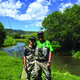 Jarett Duty and his son Alan fish the Upper Yampa River by the town of Yampa Photo courtesy of the Duty family