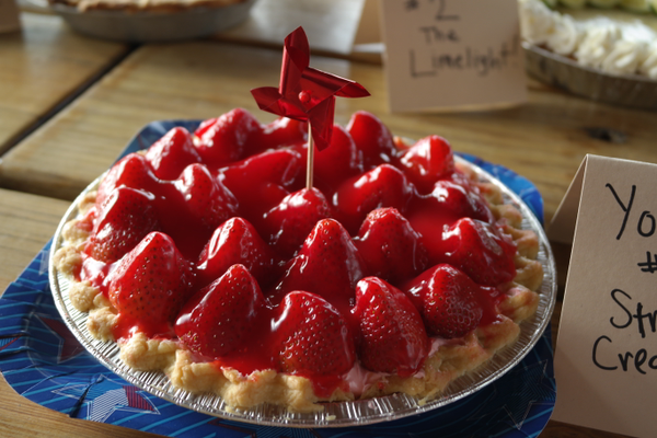 Winning Youth Pie, Strawberry Cream by Van Seamons. —Erin Dixon