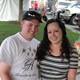 Adult winner Irma McDonald with her husband. —Erin Dixon