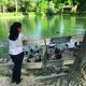 Mextli Lonzano Olguin enjoys the peace and wildlife at Wheeler Farm. Photo by Alisha Soeken