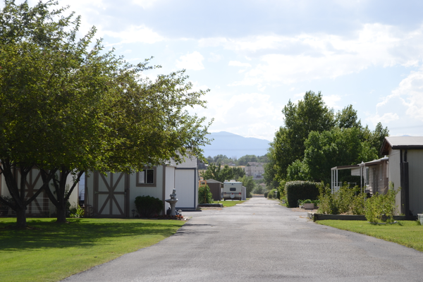 Winchester Park Estates, a mobile home park for seniors, was recently put up for sale prompting concern among its residents. –Kimberly Roach