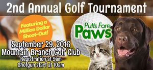 Medium putts 20fore 20paws