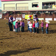 Contestants line up after Mutton Bustin' (photo by Mylinda LeGrande)