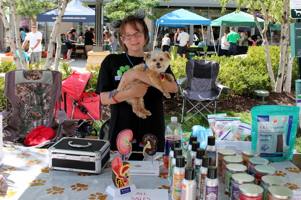 Woofstock, presented by Good Karma Animal Rescue of MN, at The Shoppes at Arbor Lakes Aug. 6, 2016. (photo by Wendy Erlien)