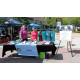 Sidewalk Dog at Woofstock, presented by Good Karma Animal Rescue of MN, at The Shoppes at Arbor Lakes Aug. 6, 2016. (photo by Wendy Erlien)