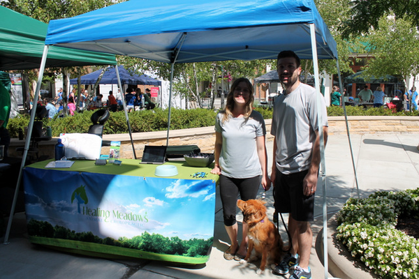 Healing Meadows at Woofstock, presented by Good Karma Animal Rescue of MN, at The Shoppes at Arbor Lakes Aug. 6, 2016. (photo by Wendy Erlien)