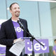 Clay Singley, director of member services for Jet.com, addresses employees on July 22 before unveiling their new customer service center. —Jason Sparks