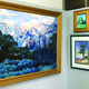 Ron Larson's paintings hang in the George S. & Dolores Dore Eccles Gallery at Salt Lake Community College's South City Campus. His traveling exhibit was displayed in other parts of the country before coming back to the area where he grew up. –Tori La Rue