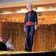 Sher M. models clothes from Mainstream Boutique/Eye Care Center during the annual Maple Grove Fashion Flair August 18, 2016 at the Maple Grove Community Center. (Photo by Doug Erlien)