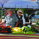 Kerry and Darleen Langston from Langston's Garden sell their produce at the farmers market.  –Sandra Osborn