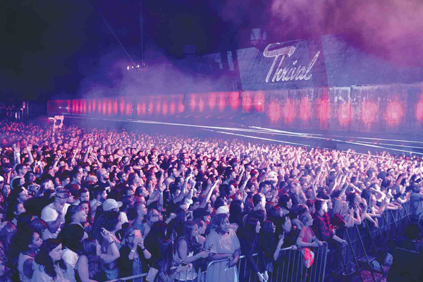 Thrival Crowd, Courtesy of Thrival Innovation + Music Festival