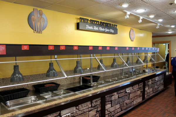 The first Golden Corral in Minnesota is set to open in Maple Grove. (Photo By: Doug Erlien)