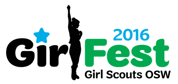 Girlfest logo 2016 with 20year