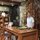 Tom Elliott and the framing staff have over 70 years of experience between them.