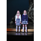 Acting Studio students Lilly Curlee and Ayden Cheek sing together during a medley from Matilda the Musical.