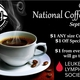 National Coffee Day Sept 29 - start Sep 29 2016 0600AM