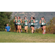 Several members of the Titans girls team crest a hill at the BYU Invitational on Sept. 3. Head Coach Todd Mitchell says this is the strongest the girls team has ever been. (Todd Mitchell/Head Coach)