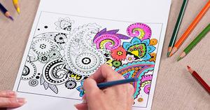 Medium coloring