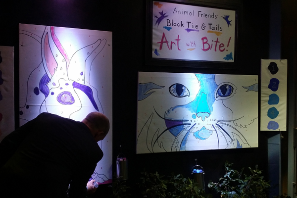 Black Tie and Tails Gala: Art with Bite
