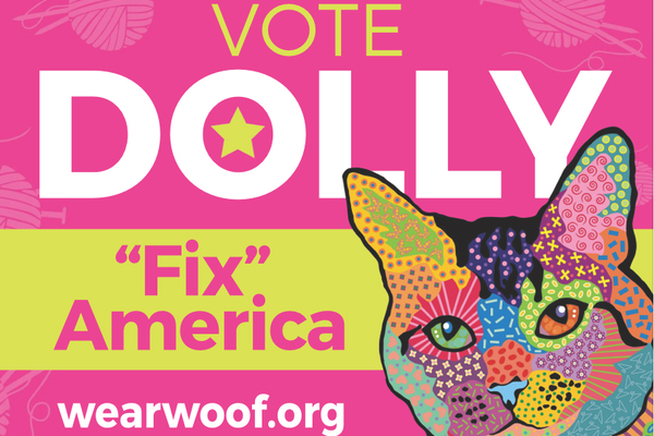 "Let's ""Fix"" America: Dolly for President"