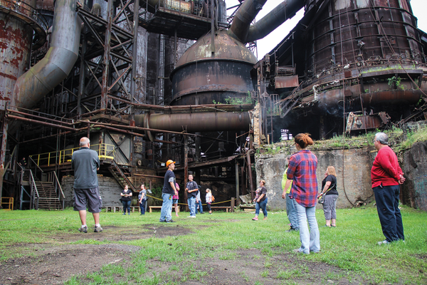 Carrie Furnace, Photo courtesy of Natalie Pina