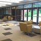 The front foyer of Cottonwood High School, with new lighting and furniture, makes it more inviting and functional. (Julie Slama/My City Journals)