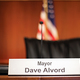 Mayor Dave Alvord conducts council meetings twice each month (Briana Kelley/City Journals)