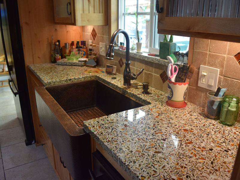 Recycled Gl Countertops Are A Sustainable Option