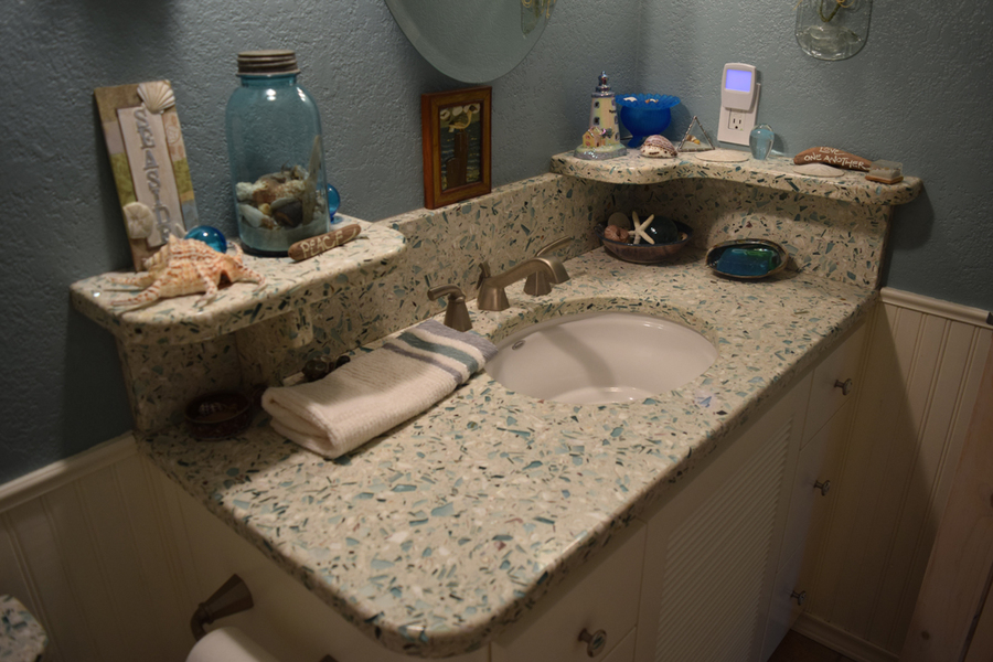 gallery recycled glass countertops are a sustainable option 5 images click any image to expand