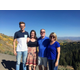 Terry and Kicki Schade with their daughter Alicen and Timpe Callebaut from Belgium. Alicen is traveling with the Up With People cast that came through Salt Lake City in September. (Kicki Schade)