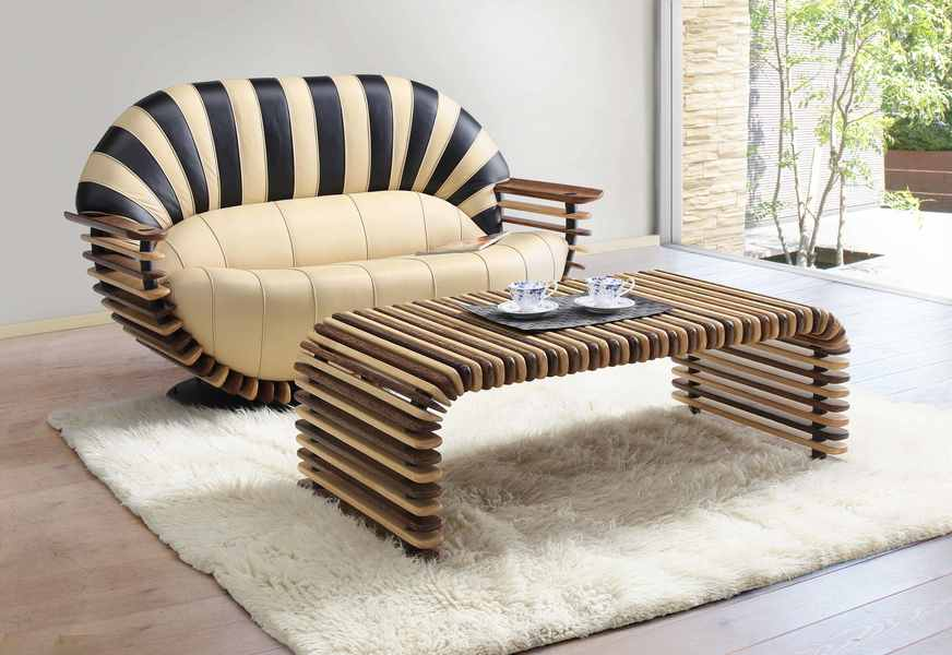 Leather With Designs The Trend Of Creative Leather Furniture Is Strong  Vermont Trend