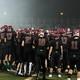 Maple Grove Senior High v. Roseville Senior High football playoffs Oct. 28, 2016. (photo by Doug Erlien)