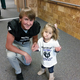 Junior Cole Anderson spent time helping out at Kauri Sue Hamilton School. (Brent Hawkins/Riverton football)