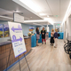 People tour the Jordan Valley Cancer Center at the ribbon-cutting ceremony and open house on Sept. 21. (Kyle Rathjen/Fuel Marketing)
