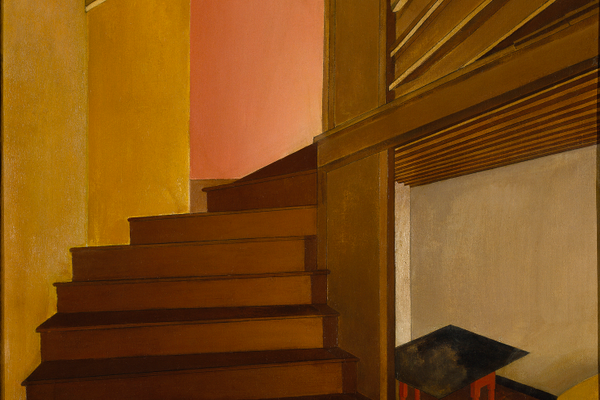 'Staircase, Doylestown' (1925), by Charles R. Sheeler, Jr.