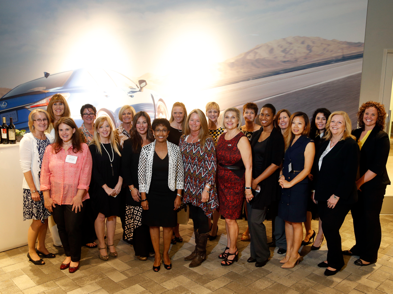 Wonderful Park Place Lexus Grapevine Hosts Women Presidentsu0027 Organization