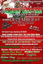 5th Annual Rockin Kids First Benefit and Auction at Amos - start Dec 03 2016 0400PM