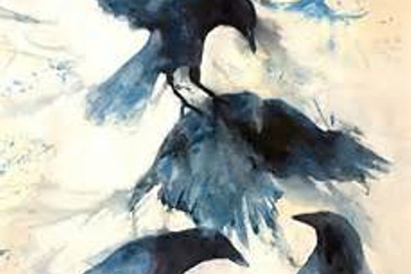'Totem II' is from Yeoman's popular crow series.