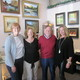 From left Former Longwood Gallery owners Sheila Washington and Marjorie Kuhn with new owners David and Megan Umbs
