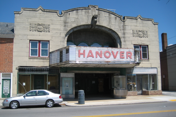 Hanover Theatre. Built in 1928.
