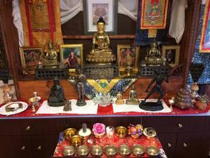 Medium shrine 204
