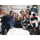Peers visit Ashtyn Poulsen in the hospital. (Ashtyn's Army)