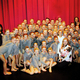 Connie Saccomanno poses with her dancers from the Winner School