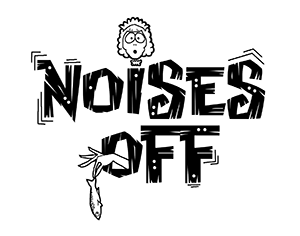 Noises off logo bw 300x236