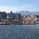 Hundreds gather to watch the regatta. (Mylinda LeGrande/City Journals)
